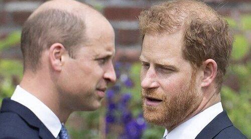 El Príncipe Guillermo y el Príncipe Harry: Lady Di, champán, pocas palabras y un futuro incierto