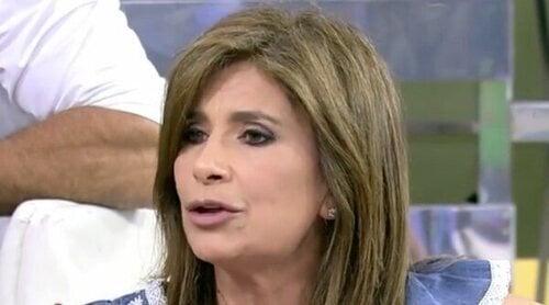Gema López, indignada con Kiko Jiménez ante la llegada de Rocío Carrasco a 'Sálvame': 'Tú eres un pelota'