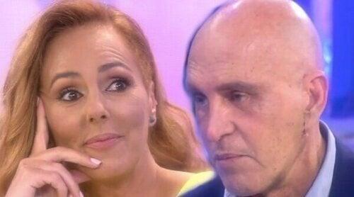 Rocío Carrasco y Kiko Matamoros se ven las caras en 'Sálvame': 'He defendido los derechos de tu hija'