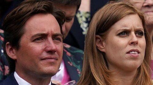 Beatriz de York presume de embarazo en Wimbledon junto a Edoardo Mapelli Mozzi