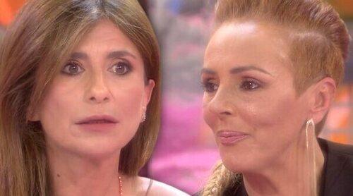 Rocío Carrasco se derrumba en su cara a cara con Gema López: '¿No crees que me hubiese gustado que fuese de otra forma?'