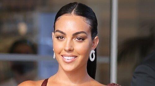 Georgina Rodríguez brilla con luz propia en la alfombra roja del Festival de Cannes 2021