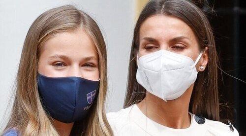 La Reina Letizia y la Princesa Leonor, vacunadas contra el coronavirus