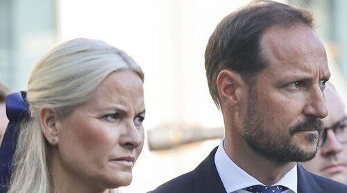 El dolor de la Familia Real Noruega en las ceremonias por el décimo aniversario del atentado de Utøya