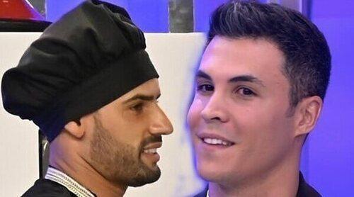 Asraf se enfrenta a Kiko Jiménez en 'La última cena': 'Es de ser traicionero y bajuno'