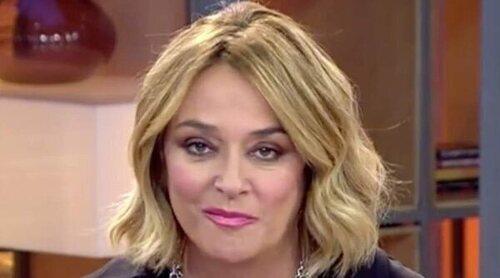 Toñi Moreno reacciona al abrazo de Olga Moreno y Rocío Flores: 'Me parece poco natural'
