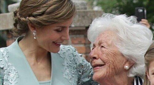 El motivo poco convincente por el que no ha ido la Reina Letizia al funeral de su abuela Menchu Álvarez del Valle