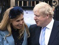 Boris Johnson y Carrie Symonds esperan su segundo hijo en común