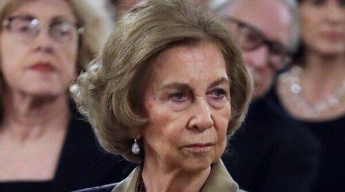 La Reina Sofía, muy preocupada por los incendios que amenazan su hogar de la infancia, el Palacio de Tatoi