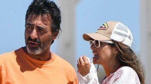 Nuria Roca y Juan del Val disfrutan en Cádiz de unos días de relax junto a sus hijos