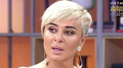 Ana María Aldón, preocupada por el estado de salud de José Ortega Cano y por el de su madre