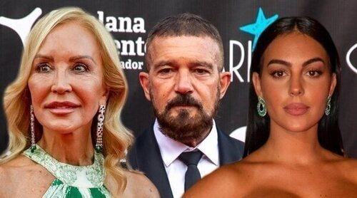 Georgina Rodríguez, Antonio Banderas o Carmen Lomana no han querido perderse la Gala Starlite 2021