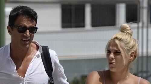 Ivana Icardi y Hugo Sierra salen del hospital tras el nacimiento de su hija Giorgia