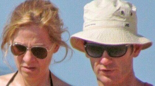 La Infanta Elena, días de playa con la Infanta Cristina e Iñaki Urdangarin en Bidart