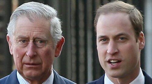 El Príncipe Carlos y el Príncipe Guillermo, unidos por una idea común y por su preocupación por la Reina Isabel