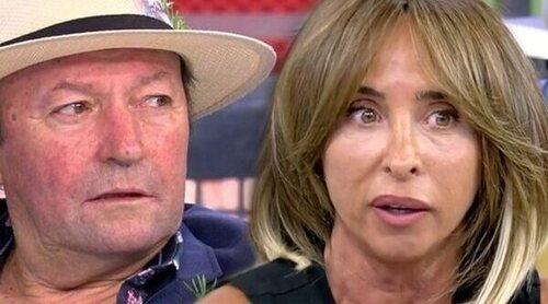 Amador Mohedano entra en directo en 'Sálvame' para negar una información de Patiño sobre Ortega Cano y Rocío Jurado