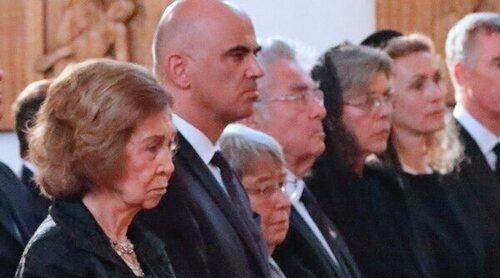 La Reina Sofía y Carolina de Mónaco, entre los asistentes al funeral de la Princesa Marie de Liechtenstein