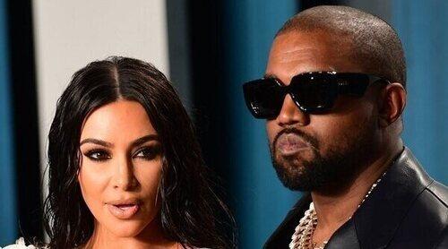Kim Kardashian promociona 'Donda', el último disco de Kanye West, con el volumen silenciado