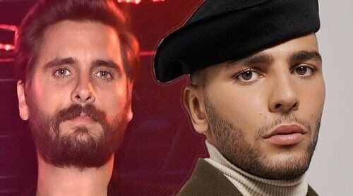 Younes Bendjima filtra un mensaje de Scott Disick criticando a Kourtney Kardashian por su actitud con Travis Barker