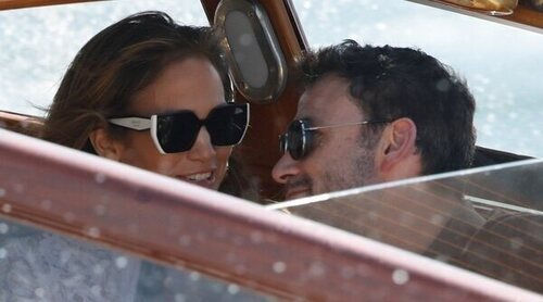 Jennifer Lopez y Ben Affleck llegan juntos a Venecia dando un paso más en su relación