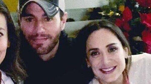 Enrique Iglesias y Tamara Falcó se emocionan al recordar la muerte de su abuela
