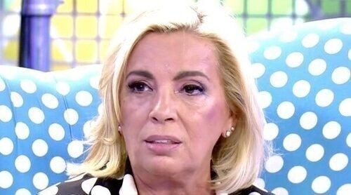 Carmen Borrego, cansada de la situación con Terelu y Ale Rubio: 'He tomado la decisión de ser yo'