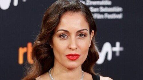 La aparición de Hiba Abouk en el Festival de San Sebastián 2021 que ha mostrado su segundo embarazo