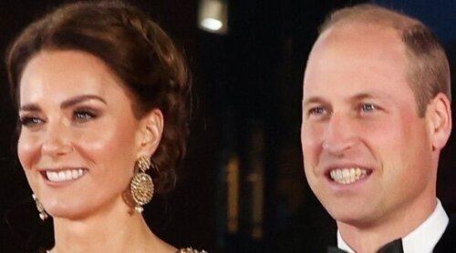 El Príncipe Carlos, Camilla y los Duques de Cambridge, los verdaderos royal Fab Four en el estreno de 'Sin tiempo para morir'