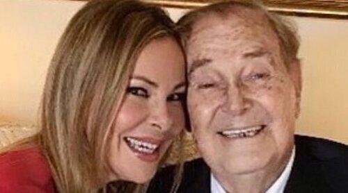 Las emotivas palabras de Ana Obregón tras el ingreso de su padre: 'Quiero seguir sonriendo contigo'