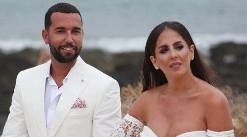 Anabel Pantoja y Omar Sánchez: así ha sido su romántica boda en La Graciosa
