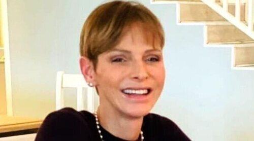 Charlene de Mónaco reaparece sonriente y con un mensaje esperanzador