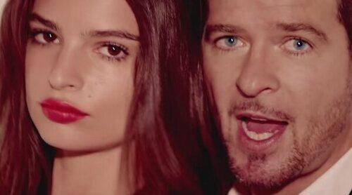Emily Ratajkowski denuncia haber sufrido acoso sexual por parte de Robin Thicke en el video de 'Blurred Lines'