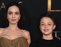 Angelina Jolie, arropada por cinco de sus seis hijos en el estreno de 'Eternals'