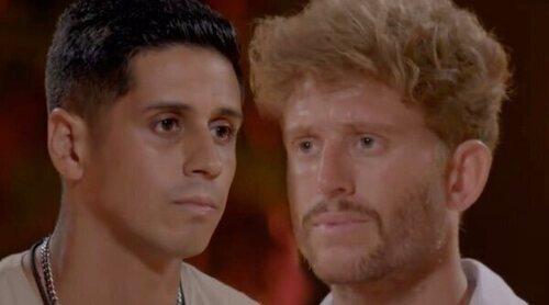El espectáculo de Gonzalo Montoya con Christofer en 'La última tentación': 'Buen peluquero, no se notan ni los cuernos'
