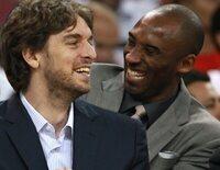 """Pau Gasol echa mucho de menos a Kobe Bryant: """"Fue ese hermano mayor que no he tenido"""""""