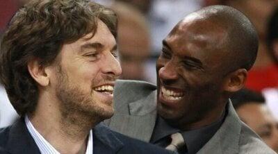 Pau Gasol echa mucho de menos a Kobe Bryant: 'Fue ese hermano mayor que no he tenido'
