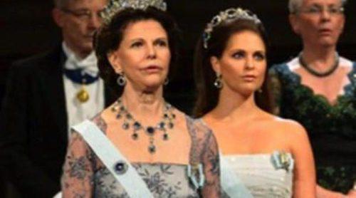 La Princesa Magdalena se une al resto de la Familia Real Sueca en la ceremonia de entrega de los Premios Nobel 2012
