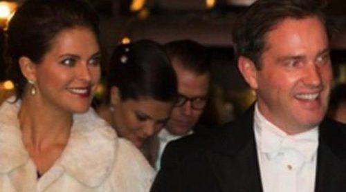 Magdalena de Suecia y Chris O'Neill, separados de la Familia Real en un acto de gala en Estocolmo