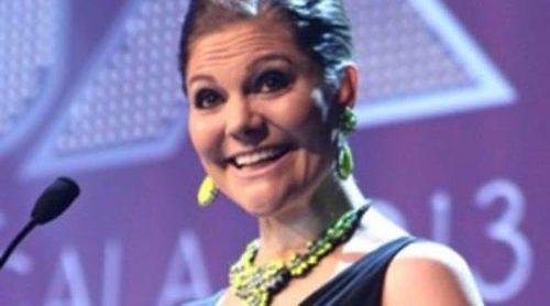 La Princesa Victoria de Suecia entrega el premio al homosexual del año y apoya al colectivo gay