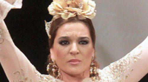 Raquel Bollo, Anabel Pantoja y Falete presentan la nueva colección de vestidos flamencos de Pepe Fernández