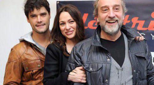 Natalia Verbeke inaugura su tienda de bicis en compañía de sus ex Gonzalo de Castro y Miguel Abellán