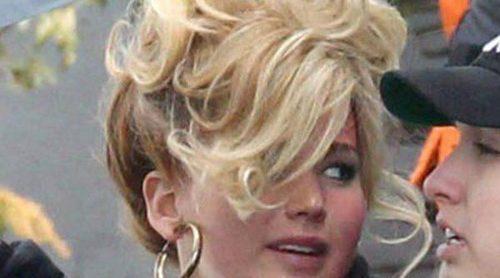El look de los años 70 de Jennifer Lawrence en la nueva película de David O. Russell