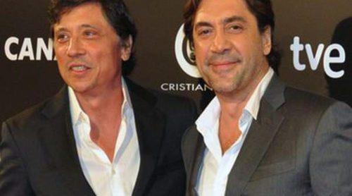 Marc Clotet, Sergio Mur y Maxi Iglesias apoyan a Carlos y Javier Bardem en la premiere de 'Alacrán enamorado'