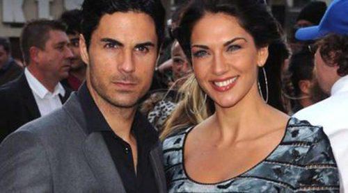 Lorena Bernal y Mikel Arteta, dos españoles en el estreno de 'Iron Man 3' en Londres