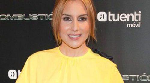 Berta Collado y Jaime Olías apoyan a Álex González y Adriana Ugarte en el estreno de 'Combustión'