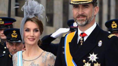 Los Príncipes Felipe y Letizia y el resto de Casas Reales, testigos de la investidura del Rey Guillermo Alejandro