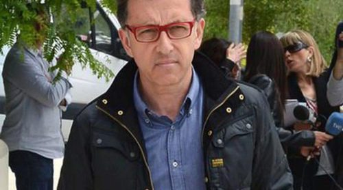 Luis del Olmo, Jordi Hurtado, Vicky Peña y Mario Gas acuden al funeral de Constantino Romero