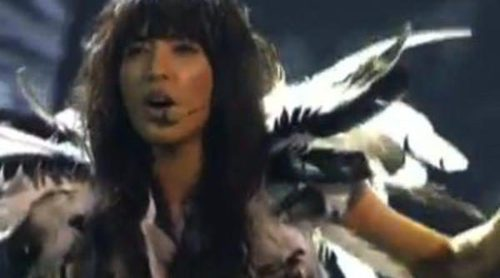 Loreen irrumpe en Eurovisión 2013 para cantar 'We got the power' y 'Euphoria'