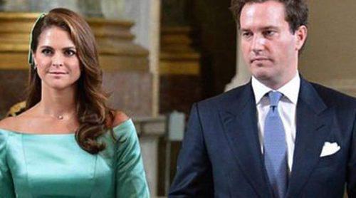 Magdalena de Suecia y Chris O'Neill leen las amonestaciones previas a su boda