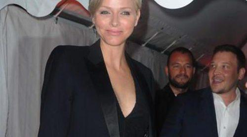 Charlene de Mónaco, Kylie Minogue y Sharon Stone, noche de fiesta en el yate de Roberto Cavalli